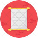 History Record Document Icon