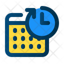 Date Time Past Icon