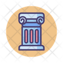 History Ancient History Roman Pillar Icon