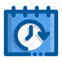 Calendar Date History Icon