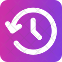 History Clock Time Icon