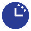 History Time Clock Icon