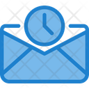Time Paper History Email Schedule Email Icon