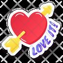 Hit Heart Icon
