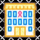 Hospice Building Color Icon