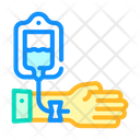 Patient Hand Dropper Icon