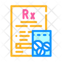 Medical Prescription Drugs Icon