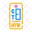 Hiv Test Color Icon