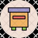 Hive Honey Box Icon