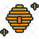 Comb Nectar Honey Icon