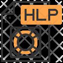 Hlp Type File Icon
