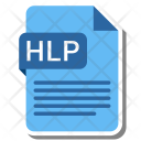 Hlp File Format Icon