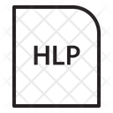 Hlp Extension File Icon