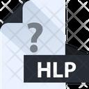 Hlp File Hlp Help File File Format Icon
