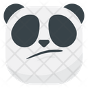 Hmm Panda Emoji Icon