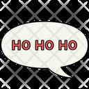 Ho Ho Ho Santa Christmas Icon