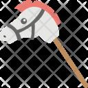 Hobby Horse Toy Icon