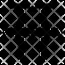 Hobnail Screw Fastener Icon