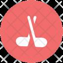 Hockey Stick Golf Icon