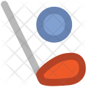 Hockey Stick Ball Icon