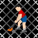 Hockey Player Icon