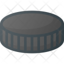 Hockey Puck Fittness Icon