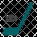 Hockey Stick Sport Icon