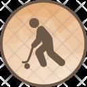 Hockey Player Sport Icon