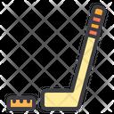 Hockey Hockey Stick Hockey Ball Icon