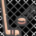 Hockey Ice Sports Icon