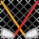 Hockey Sticks Sports Icon