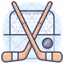 Ice Sports Game Hockey Icon