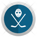 Hockey Game Mask Icon