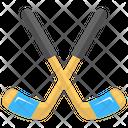 Hockey Equipment Olympic Icon