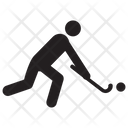 Hockey Human Avatar Sportsman Icon