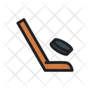 Hockey Game Stick Icon