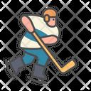 Winter Hockey Sport Icon