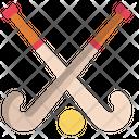 Hockey Hockey Stick Stick Icon