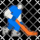 Hockey Hockey Player Hockey Play Icon