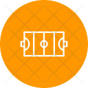 Hockey Field Court Icon
