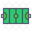 Hockey Field Court Icon
