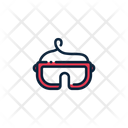 Hockey Equipment Goggles Glasses Icon