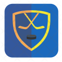 Hockey Game Puck Icon