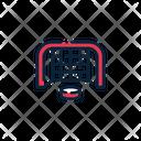Hockey Goal Goal Post Goal Icon