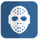 Hockey Mask Goalkeeper Icon