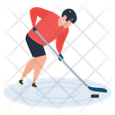 Sport Outdoor Game Hockey Icon