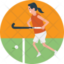 Field Hockey Sports Icon