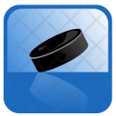 Hockey Puck Game Icon