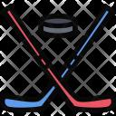 Hockey Sports Equipment Icon