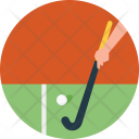Hockey Field Grass Icon